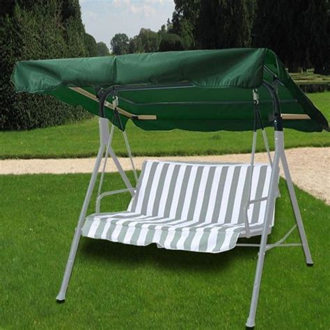 swing covers with canopy new patio 66 quot x45 quot outdoor green swing canopy replacement