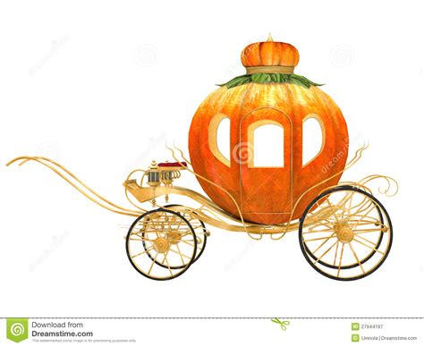 Housebeautiful by Cinderella Fairy Tale Pumpkin Carriage Royalty Free Stock