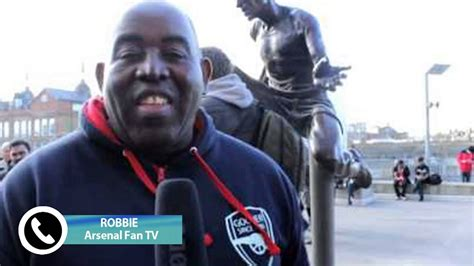 arsenal fan tv arsenal fan tv presenter robbie discusses arsenal