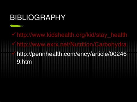 carbohydrates kidshealth org jp nutrition powerpoint