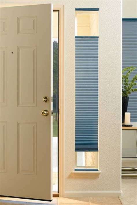 Front Door Window Shades Cellular Honeycomb Bayside Blind Shade Seacoast Nh Insulating