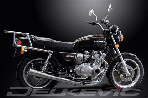81 Suzuki Gs850g Suzuki Gs850g Complete 4 1 Stainless Steel Exhaust Classic