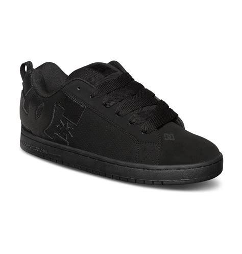 dcshoes black dc shoes s court graffik low top shoes black xkkk ebay