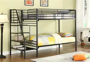 Daybed Besi Donco Metal Bunk Beds With Stairs Kfs Stores
