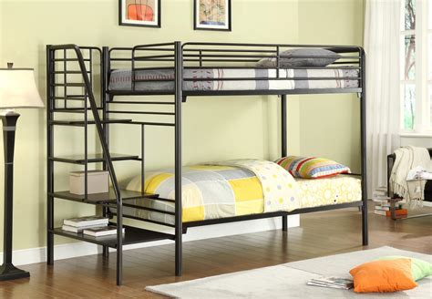 Bedding For Bunk Beds Donco Metal Bunk Beds With Stairs Kfs Stores