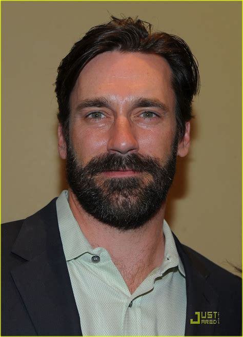 Jon Hamm Beard | jon hamm boasts a beard photo 2408210 jennifer