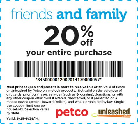 dog food coupons for petco today 6 28 last day to use your 20 off coupon at petco