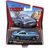 Details About Disney Pixar Cars 2 Movie Finn McMissile Mattel Die Cast