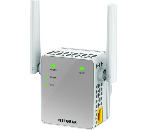 Wifi Range Extender netgear ac750 wifi range extender ac750 dual band deals pc world