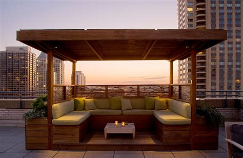 Designing Your Own House chicagogardens com 187 shade cabanas in the sky