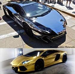 Lamborghini Vs Lamborghini Autojosh Airtime Giveaway Chrome Vs Gold Lamborghini