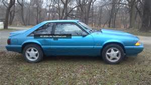 1992 Ford Mustang 1992 Ford Mustang Lx 5 0