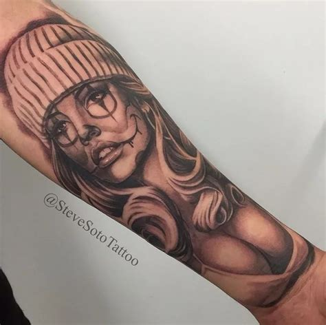 girl tattoo jokes mais de 1000 ideias sobre chicano tattoos no pinterest