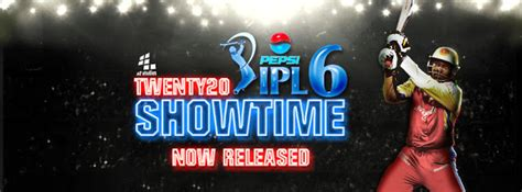 ipl theme download for pc new pepsi ipl6 t20 patch 2013 a2studios cricket pc game
