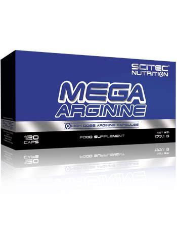 ossido nitrico alimenti mega arginina capsule120 scitec nutrition l arginina