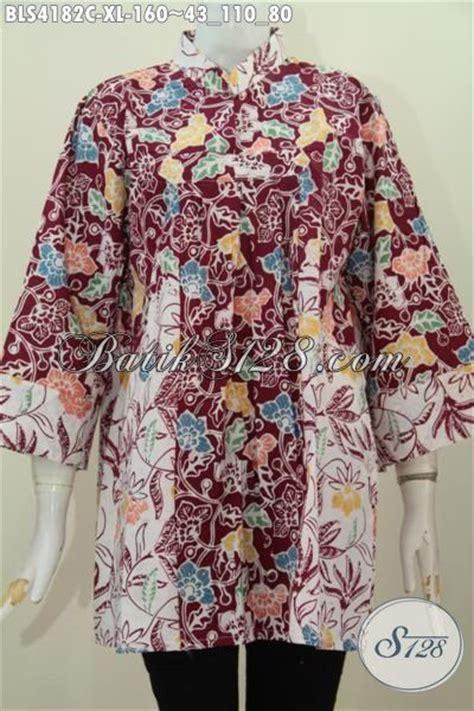Baju Zirah Terkenal toko baju batik terkenal di jual produk blus batik kerah shanghai tanpa kancing