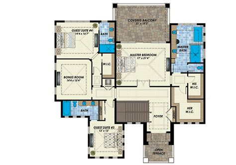 two master suites 59638nd architectural designs two master bedrooms 31839dn architectural designs
