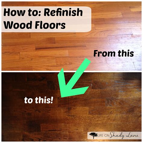 How To Refinish Wood Floors how to refinish wood floors part 2 on shady