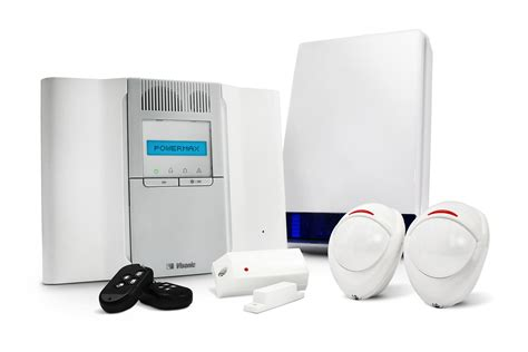 visonic powermax wireless burglar alarms in