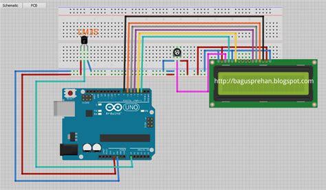 Termometer Yang Bagus by Thermometer Digital Dengan Arduino Bagus Prehan