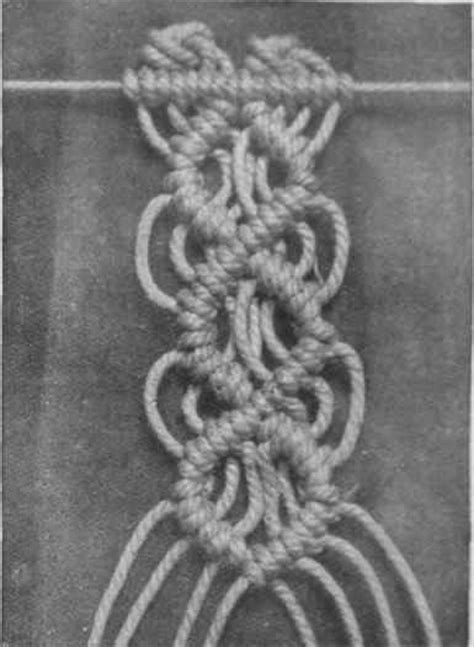 Hemp Stitches - macrame