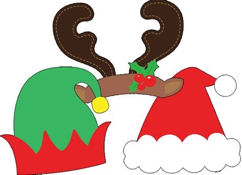printable xmas props best free christmas printables for kids party delights blog