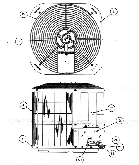 carrier air conditioner parts diagram carrier heat parts model 38ycc024series300 sears