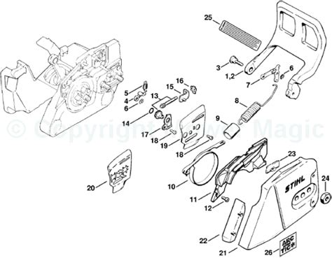 stihl 290 parts diagram stihl ms 290 parts list and diagram the knownledge