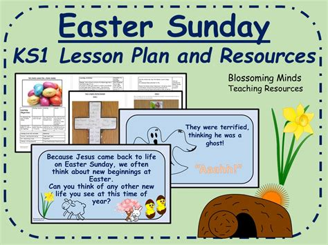 ks1 re rs lesson easter sunday by blossomingminds