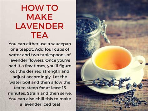 Cup of Lavender Tea? It?s Got 8 Benefits!