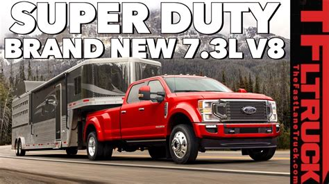 2020 Ford Duty 7 0 V8 by New 2020 Ford Duty Gets A More Powerful Diesel And A
