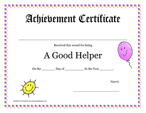 award certificates pdf printable award certificates for teachers helper