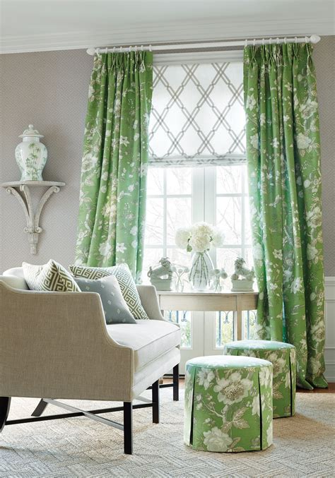 curtain colors for light green walls interior foxy thibaut designs living room decoration