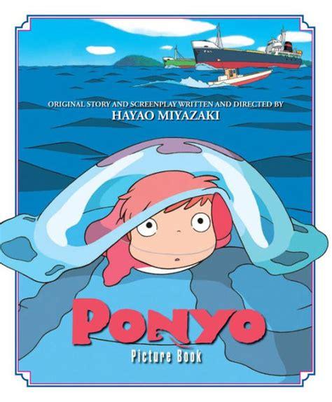 hayao miyazaki biography amazon ponyo picture book by hayao miyazaki hardcover barnes