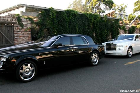 rolls royce phantom wedding car hire sydney deblanco