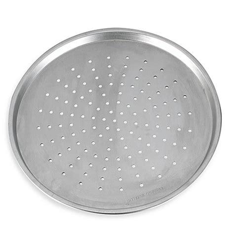 Crisper Pizza Pan 36 Cm chicago metallic pizza crisper pan bed bath beyond