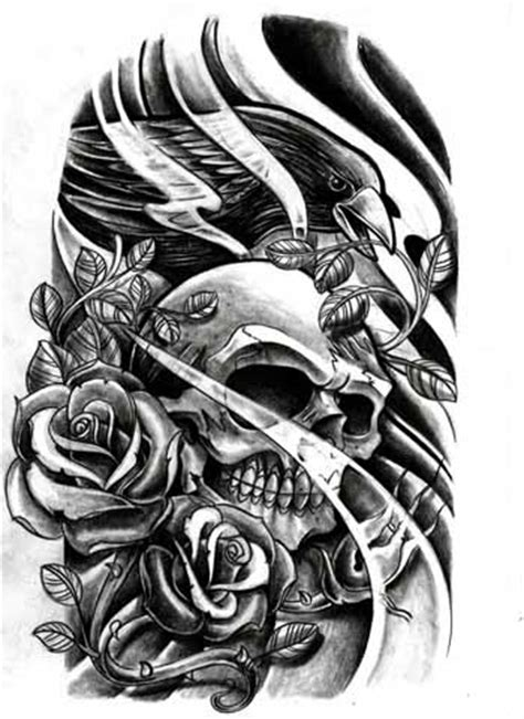 color skull tattoo designs afrenchieforyourthoughts skulls tattoos drawings