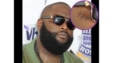 rick ross new tattoo images designs