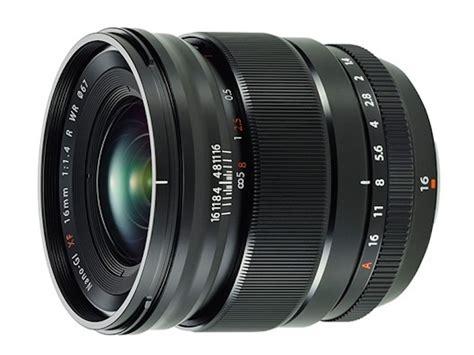 Fujifilm Xf 16mm F 1 4 R Wr Lensa fujifilm announces the fujinon xf 16mm f 1 4 r wr lens