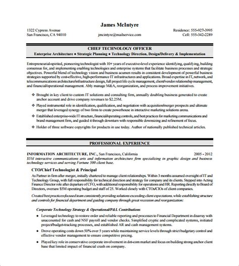 Executive Resume Templates Word by Template For Resume In Word