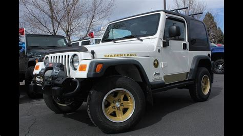 2006 jeep golden eagle jeep wrangler sport golden eagle edition 2006 by 4x4