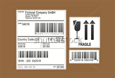20 Shipping Label Templates Free Sle Exle Format Download Free Premium Templates Shipping Label Template