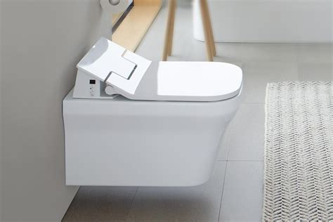 duravit sensowash slim innovative shower toilets duravit