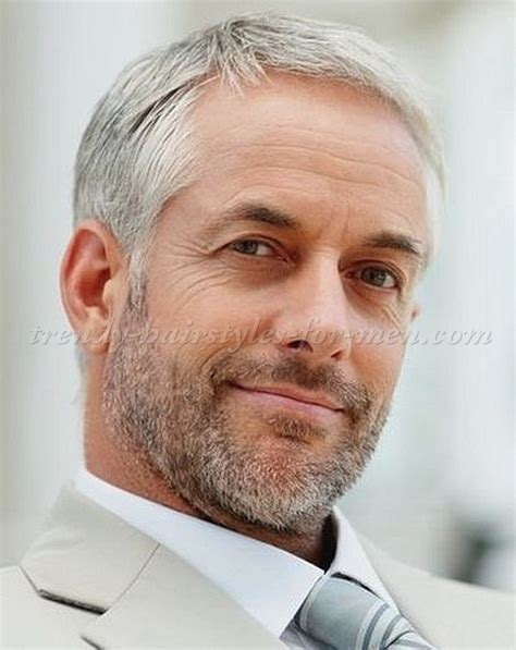 Mens Grey Hairstyles by Hairstyles For 50 Grey Hairstyle For
