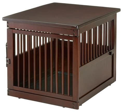 modern crate wooden end table crate modern kennels and crates by richell usa