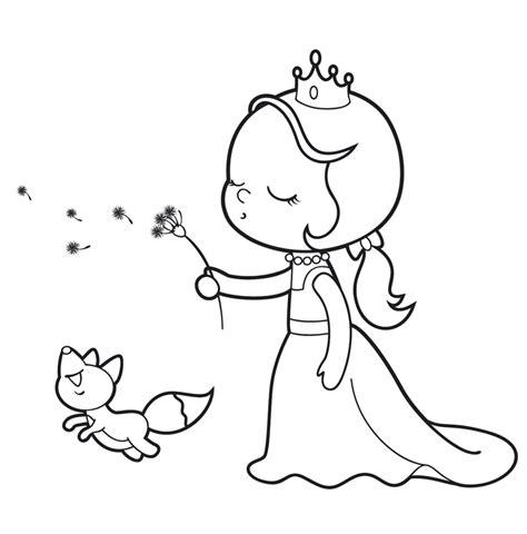 Kostenlose Vorlage Hase Kostenlose Malvorlage Prinzessin Prinzessin Mit Pusteblume Zum Ausmalen