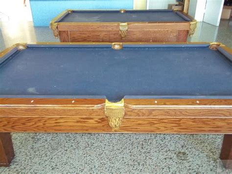 lot of 2 proline altamonte billiard pool tables 4x8 ebay