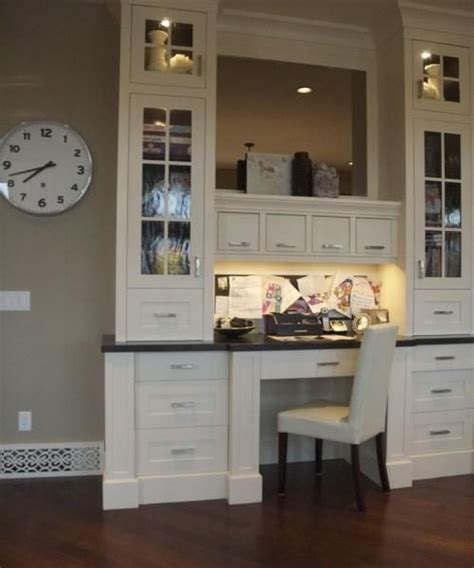 kitchen office furniture 22 built in home office designs maximizing small spaces