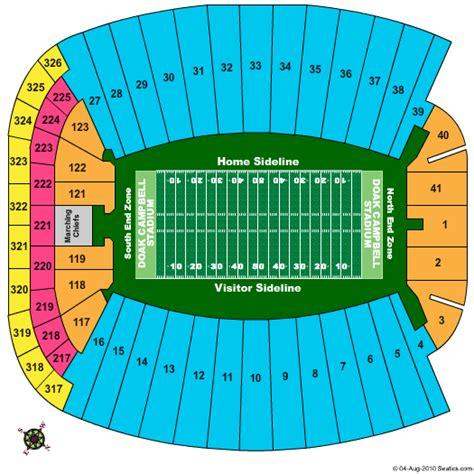 florida state stadium seating chart doak cbell stadium seating chart