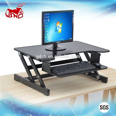 standing desk adjustable height new modern adjustable height office standing desk buy
